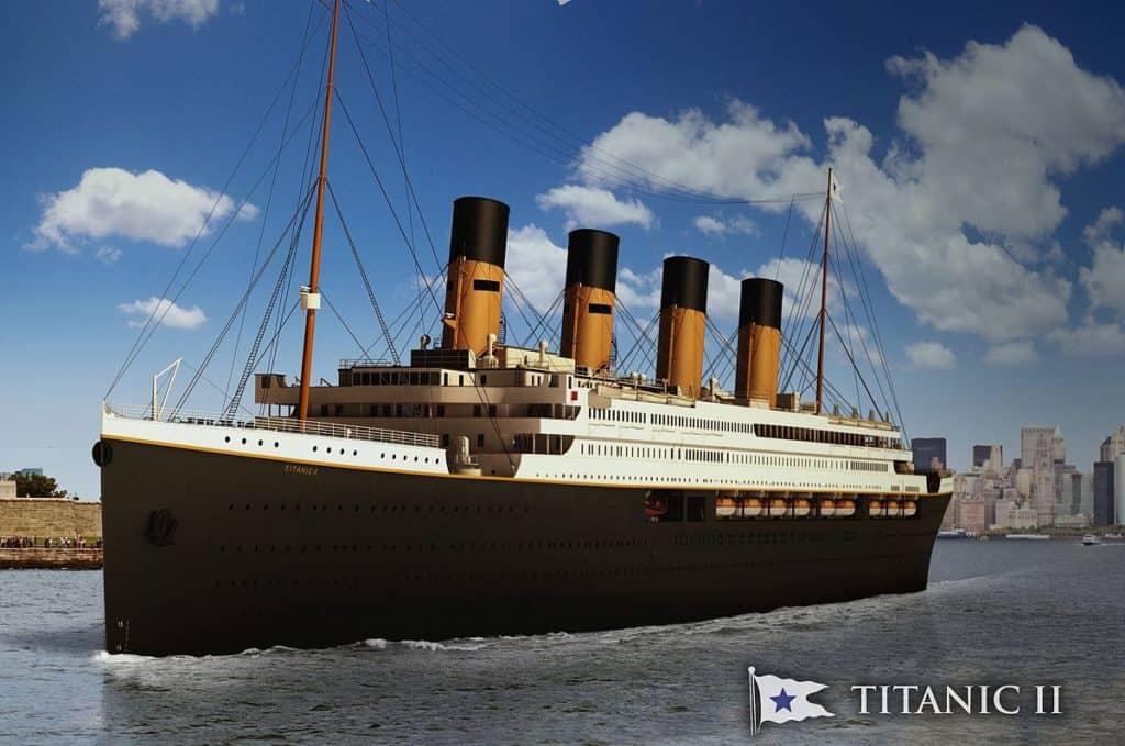 Vydejte se na retro plavbu. Nový Titanic vás nadchne.